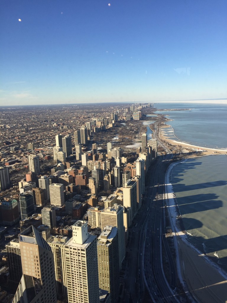 Ausblick vom John Hancock Tower