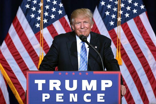 Der Tag an dem D. Trump Präsident der Vereinigten Staaten wurde